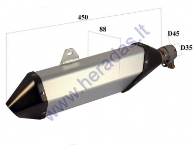 MUFFLER FOR MOTORCYCLE 250-400cc