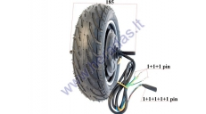 Electric scooter engine with 48V 400WAT tire, suitable for PIXI