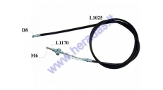 Electric scooter front brake cable EPICO L117