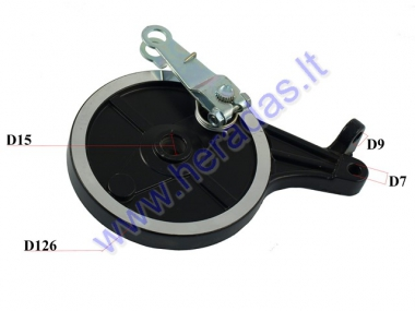 DRUM BRAKE COVER REAR FOR ELECTRIC MOTOR SCOOTER EPICO