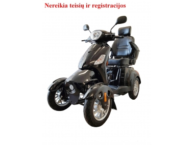 Four-wheel electric scooter, wheelchair COMFIMAX XL-4L 60V 500W