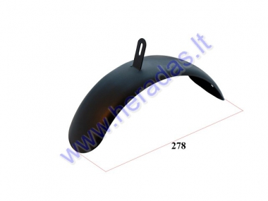 FRONT FENDER FOR ELECTRIC MOTOR SCOOTER, FIT TO PIXI, DUDU