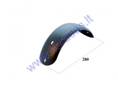 Rear fender for scooter suitable for PIXI, DUDU
