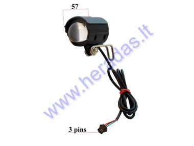 Front light for scooter, suitable for model PIXI