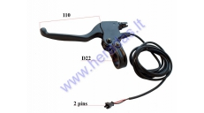 LEFT BRAKE LEVER FOR ELECTRIC SCOOTER FOR PIXI, DUDU