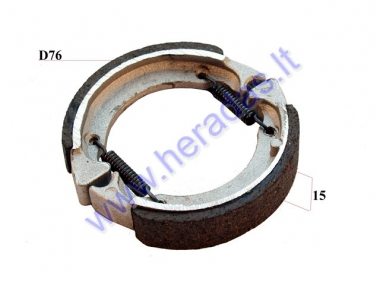REAR BRAKE PADS FOR SCOOTER, KICK SCOOTER FOR MODELS PIXI, DUDU
