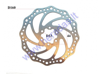 FRONT BRAKE DISC FOR SCOOTER, KICK SCOOTER, SUITABLE FOR MODELS PIXI, DUDU