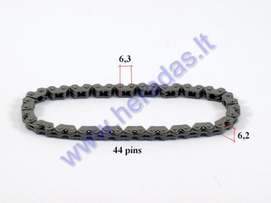 Oil pump chain 44 link for scooter GY6 125-150cc