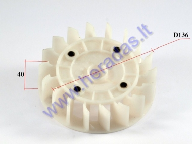 Cooling fan for scooter 150cc