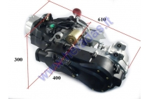 Engine for quad bike 4-stroke GY6 200c with reverse gear