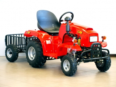 Kids tractor with trailer 110cc