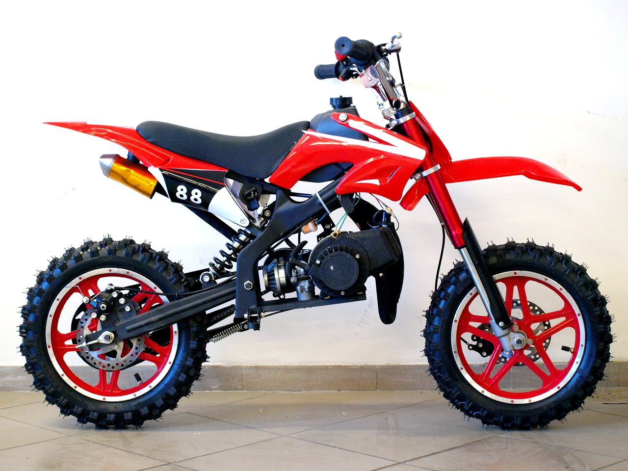 Mini Dirt Bike Motocross Bike 50cc Kross Delta