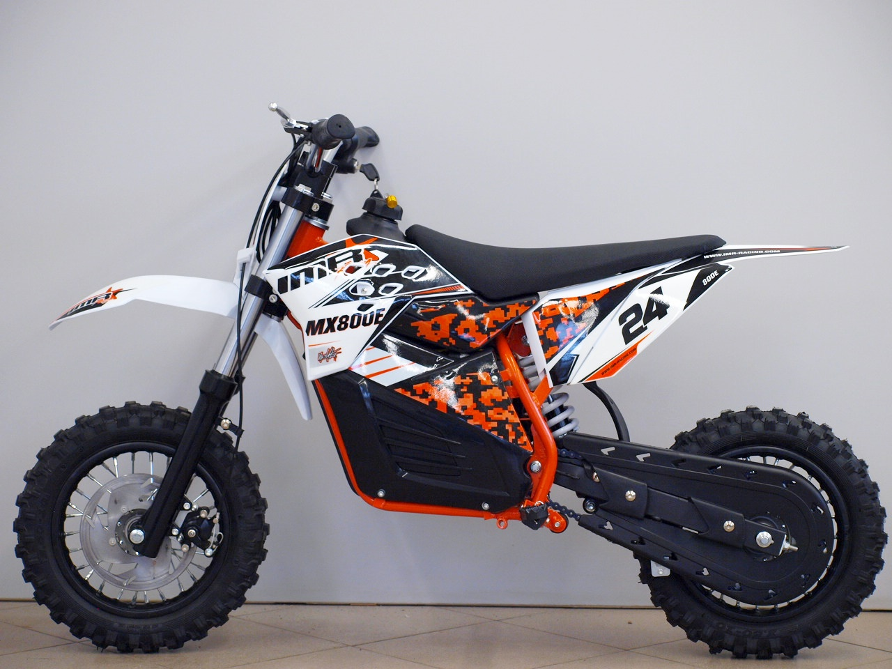 Electric mini dirt bike (motocross bike) MX800E 800W