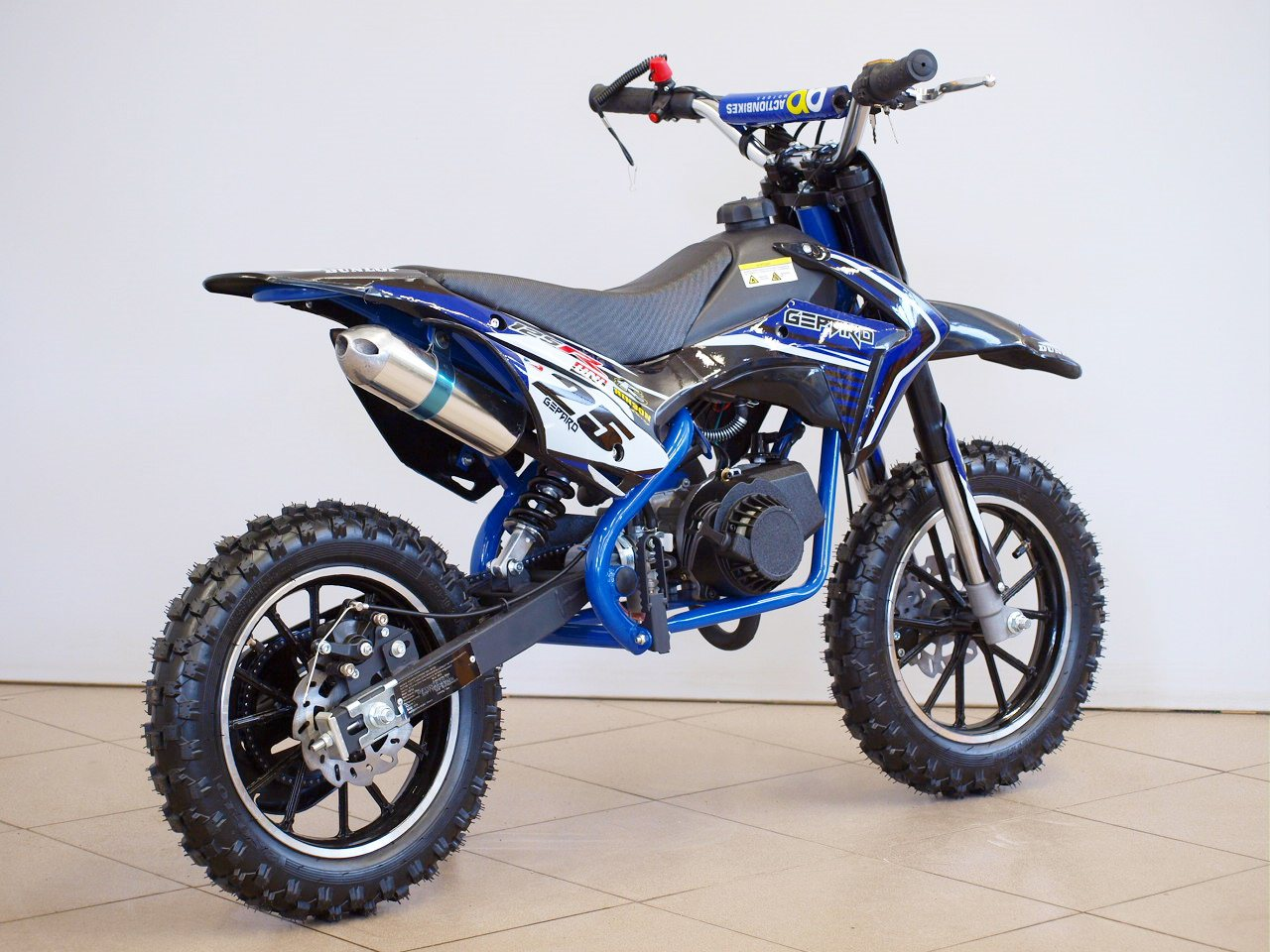 mini dirt bike motocross bike 50cc kross gepard. Black Bedroom Furniture Sets. Home Design Ideas