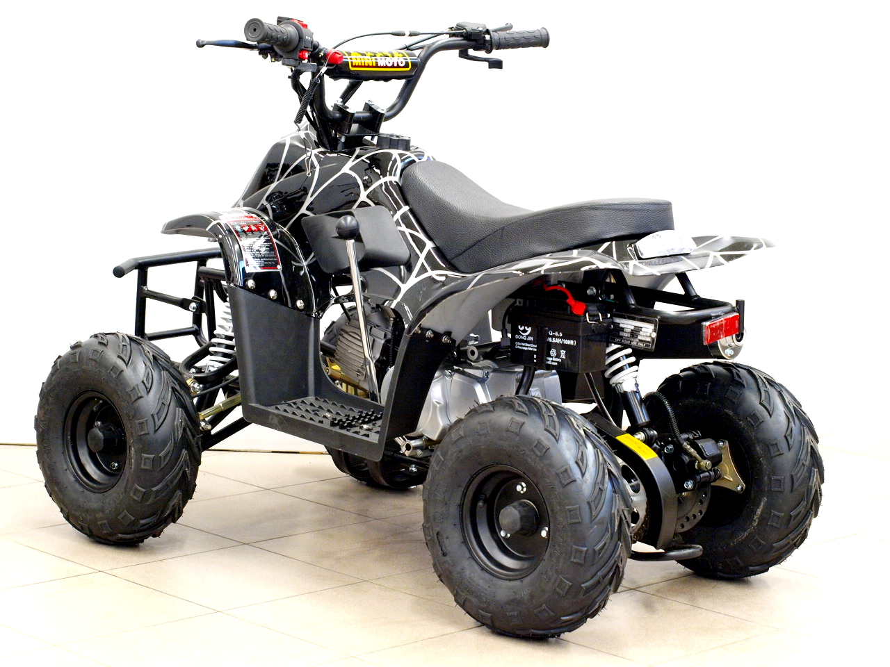 4 Wheel Electric Bike >> Quad bike 110cc CRUSADER SUPer EDITION 6c