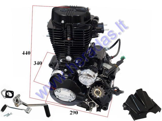 Motorcycle engine LIFAN 4-stroke 250cc 5 gears