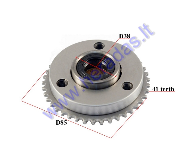 starter clutch assembly for atv quad bike up to 110-125cc  one way bearing