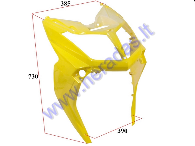 PLASTIC HEADLIGHT COVER FOR MOTOR SCOOTER HAWK