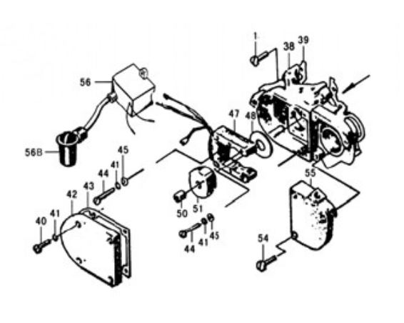 Motorized bicycle ignition system 50-80cc